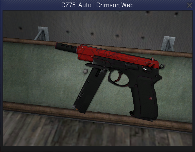 awesomesauce on twitter cs go cz75 auto crimson web mw giveaway in 2 games road to 5000. Black Bedroom Furniture Sets. Home Design Ideas