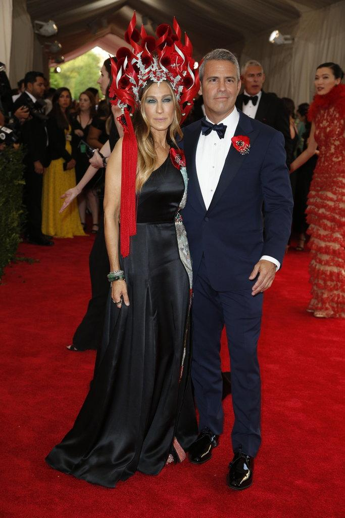 Not sure about this Las Vegas showgirl interpretation of China on SJP. #MetGala http://t.co/Q7yd7vm1j8