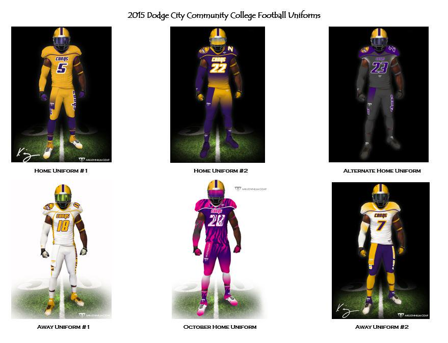 on twitter release of the 2015 dodge city community college football. Cars Review. Best American Auto & Cars Review