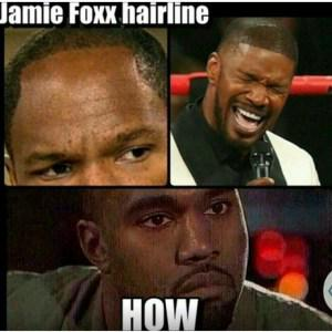 I know right? #mayweatherpacquiao #JamieFoxx #Hairlinejokes http://t.co/88QVRAHRqR