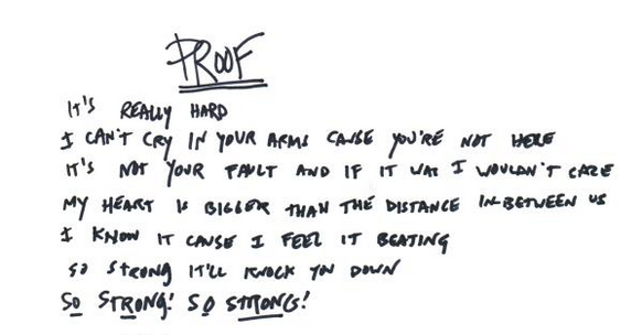 See these #ProofLyrics? They were written by @paramore's @yelyahwilliams & you could WIN them: http://t.co/UXFNXA4MWP http://t.co/opPCJRjMDc