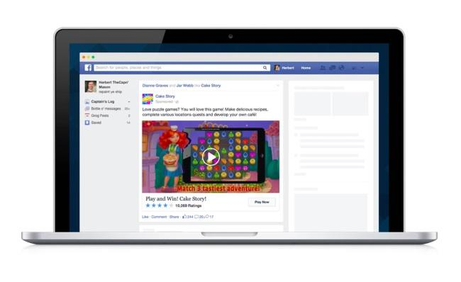 Facebook Adds Video to Desktop App Ads: http://t.co/VMPObj0wph #Facebook http://t.co/R7HmmyNvGf
