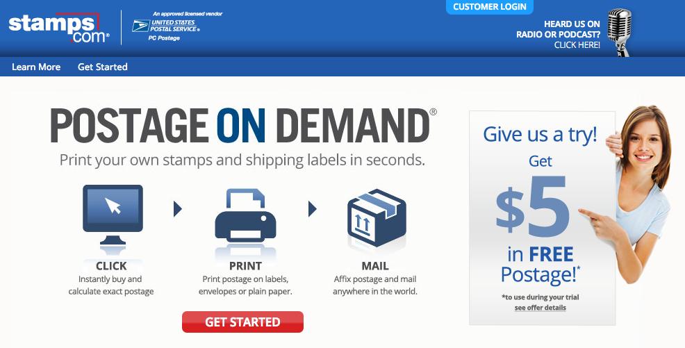 Stampscom promotion