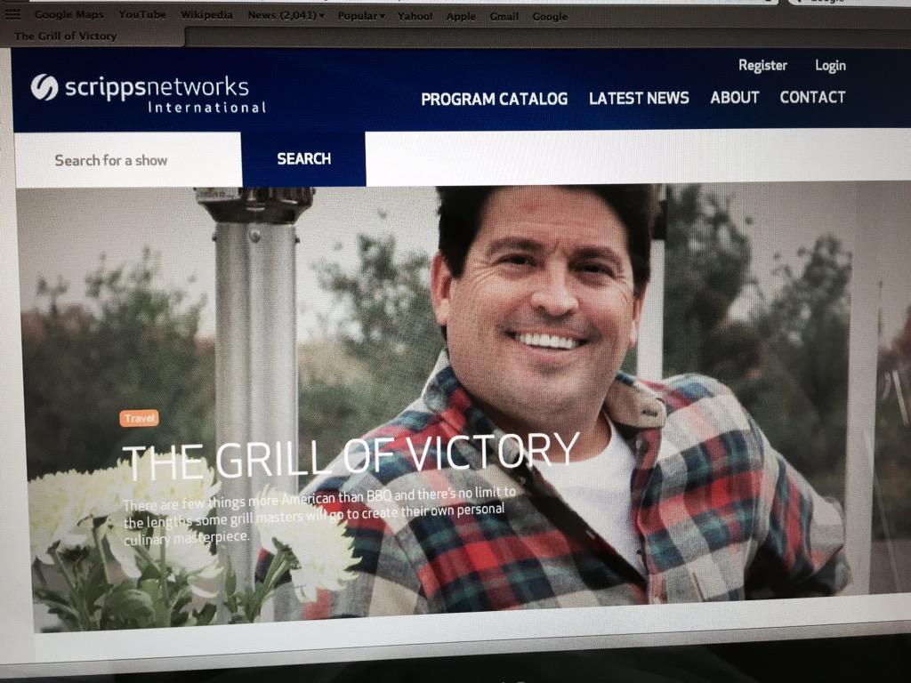 The grill of victory travel channel