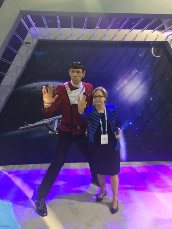ML and Spock redefining the Total Customer Experience #cX #EMCWORLD Booth #463 http://t.co/qb9uMzmWsm