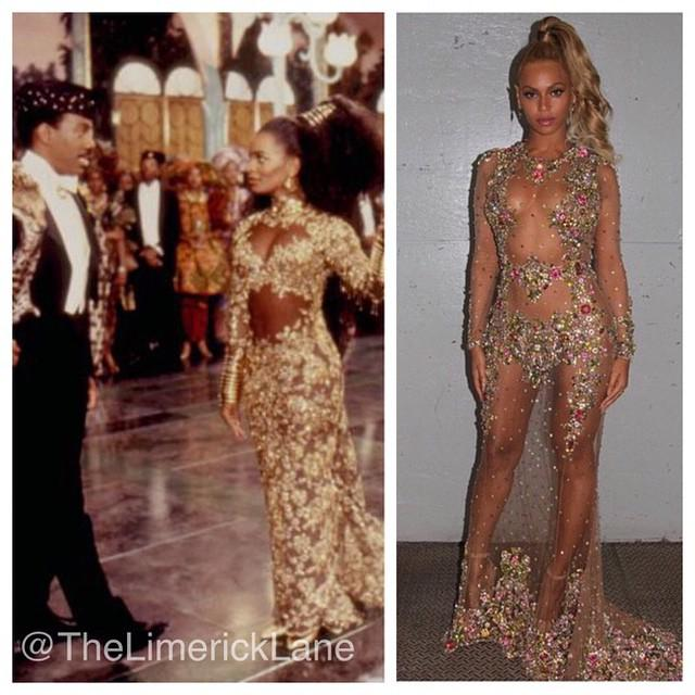Toya on twitter was beyonce inspired by vanessa bell for Coming to america wedding dress