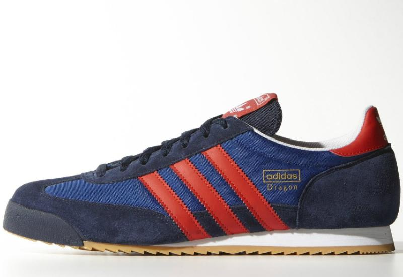 adidas dragon navy and red