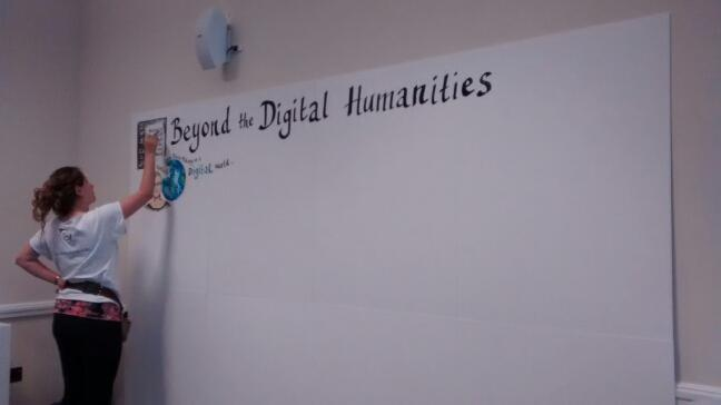 And we're all set for the final Beyond the #digitalhumaties @NeDiMAH. Join in & follow the talks via #nedimah2015 http://t.co/8439kB66IL