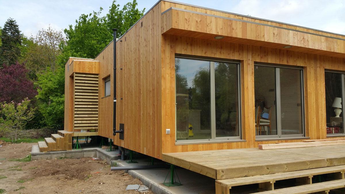 """Constructeur Maison En Bois Loir Et Cher casas natura france on twitter: """"montage d'une maison en"""