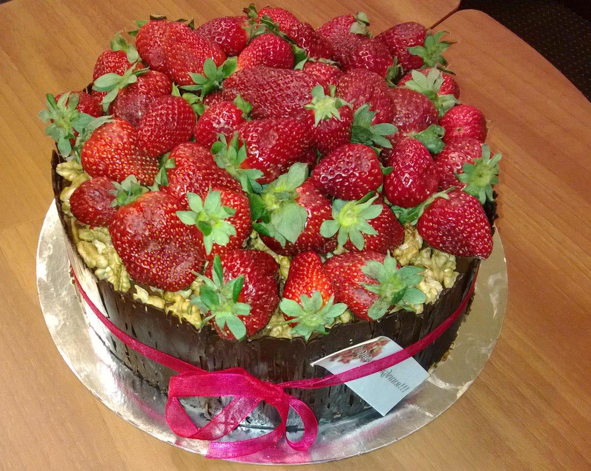 Торт для клубника сфото