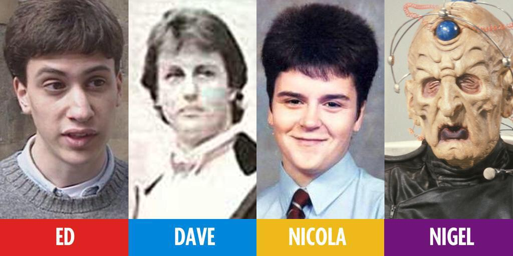 These pics of the party leaders as youths are great....#election2015 http://t.co/sd5SkouhpQ
