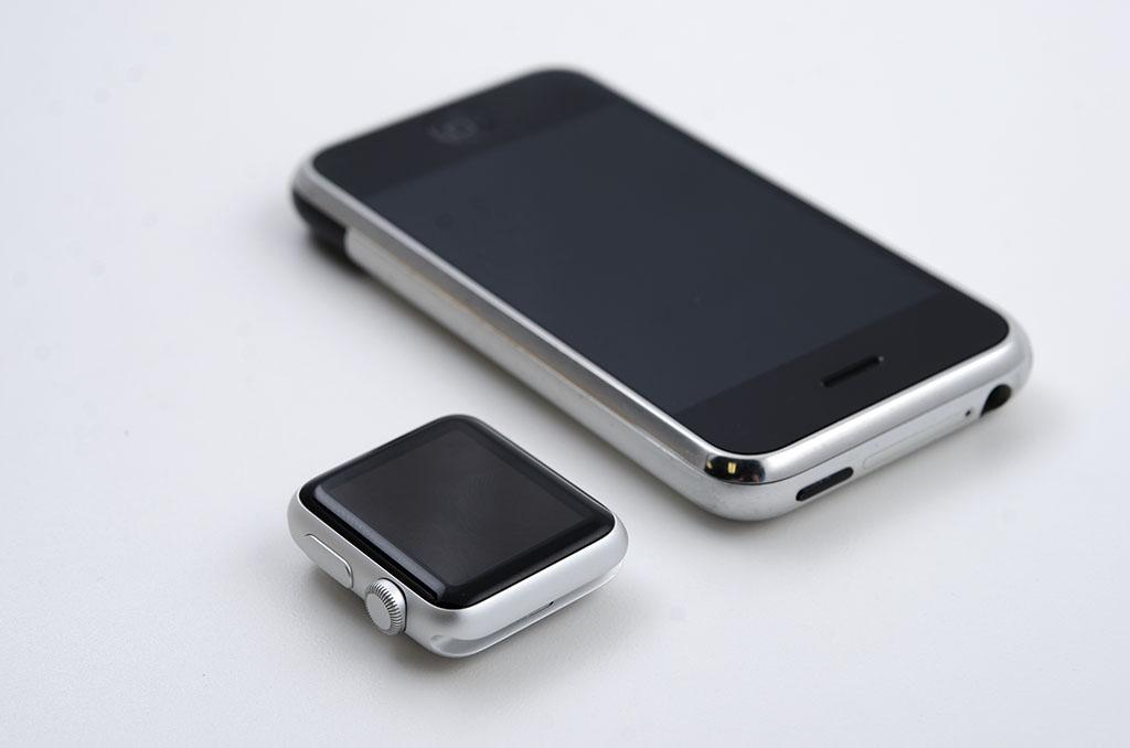 Original iPhone vs Apple Watch