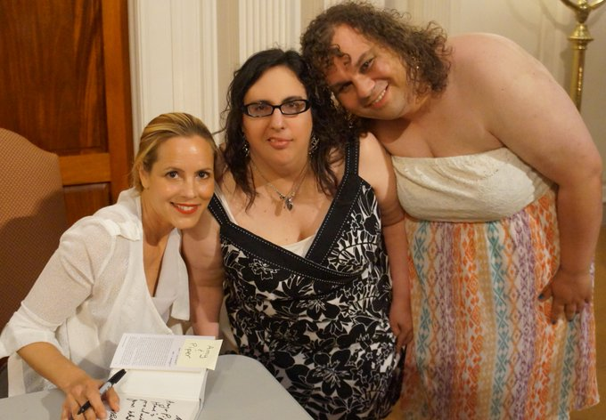 Picture of Myself, Maria Bello and CapturedByThePast