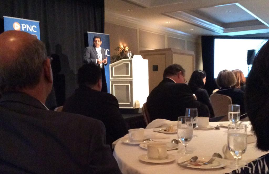 Nilesh Dusane of @RippleLabs talks payment systems @BAFT_Global  luncheon annual meeting. #BAFT http://t.co/MQWUy0mhV1