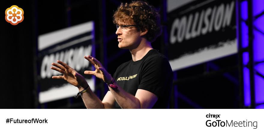 """When you bring people & ideas together in the right way, incredible things happen"" -@paddycosgrave #CollisionConf http://t.co/oJ7HzANLQo"