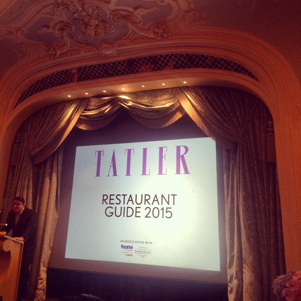 Delighted to win dish of the year #GamePie @abarnesy08 @TatlerUK http://t.co/aWFw5zJToh