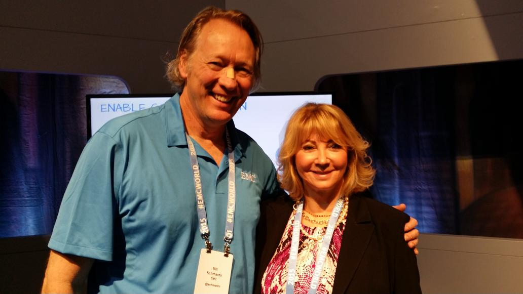 Passionate people make wonderful speakers These two did an amazing job @schmarzo @emcdatadiva #CX #EMCWORLD #winkeybd http://t.co/9rRKwpzyXV