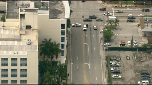 breaking: south miami -- crews have shut down 62 ave from