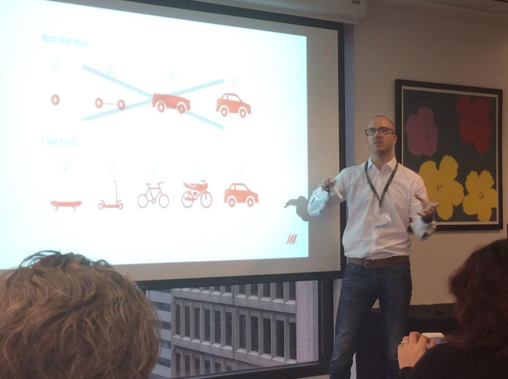James of @MMT_Digital doing the fastest keynote - ever ! #jboye15 http://t.co/2vWLOhuhzk
