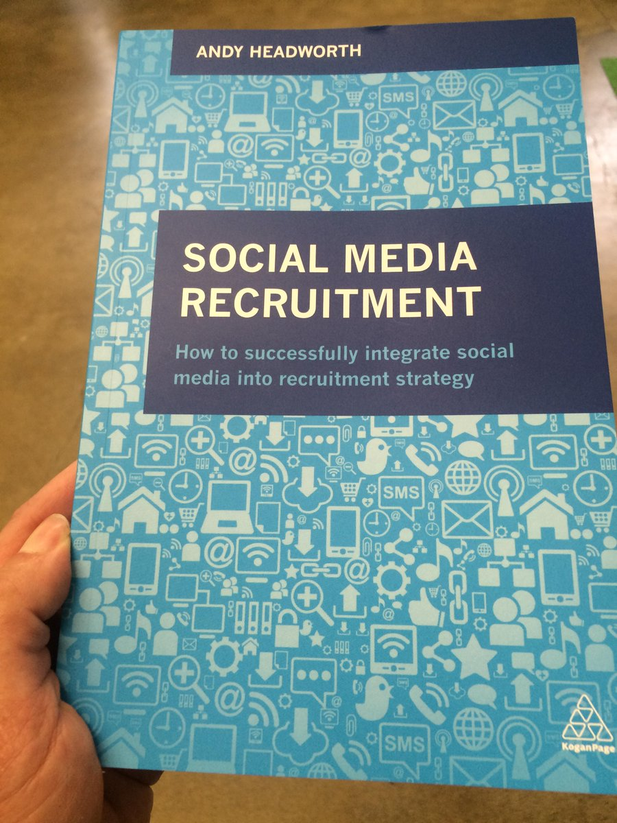 Awesome new book from @andyheadworth - lots of great tips & case studies #socialrecruitment http://t.co/Zc0uzqmvBw http://t.co/xGGu0J1WVN