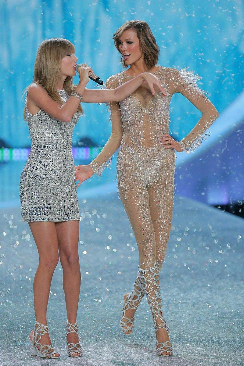 Taylor swift borrowed karlie kloss's naked pantsuit for ...
