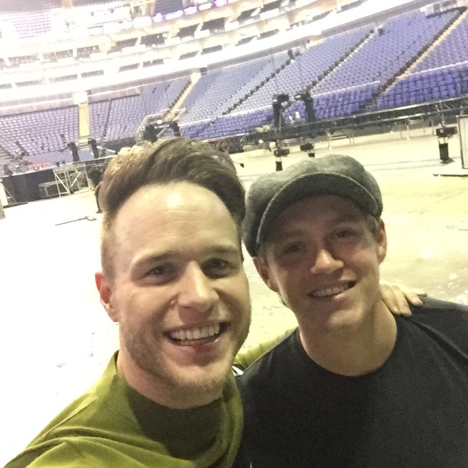 Still at the @TheO2 after the show with @NiallOfficial raving in the Arena! #goodtimes http://t.co/PUoZPKqjWB