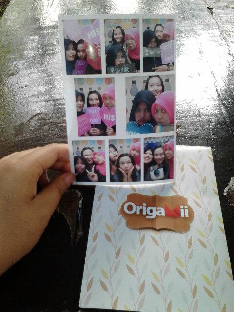 Mallina Agustina On Twitter Origami Photobox Boemi Kedaton Mall