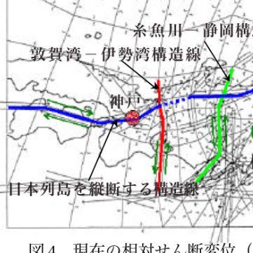 """ふくちゃん on Twitter: """"<b>敦賀湾伊勢湾構造線</b>って長大な左横ずれ断層 <b>...</b>"""