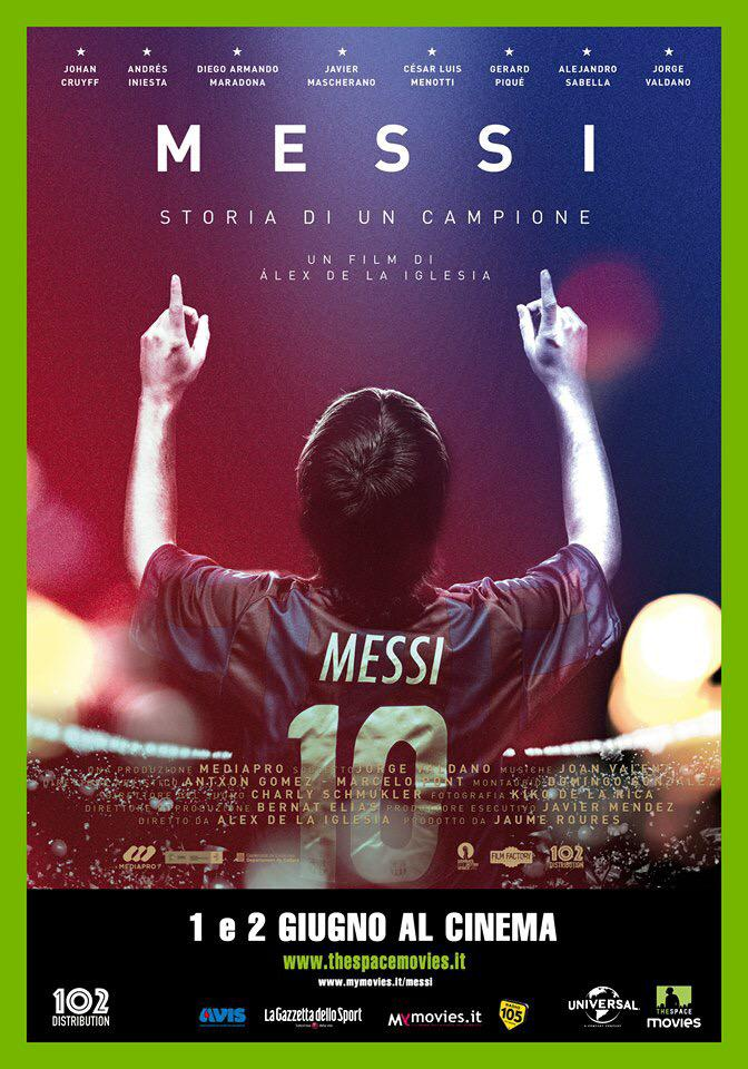 The Space Cinema: la storia di Leo Messi in un film