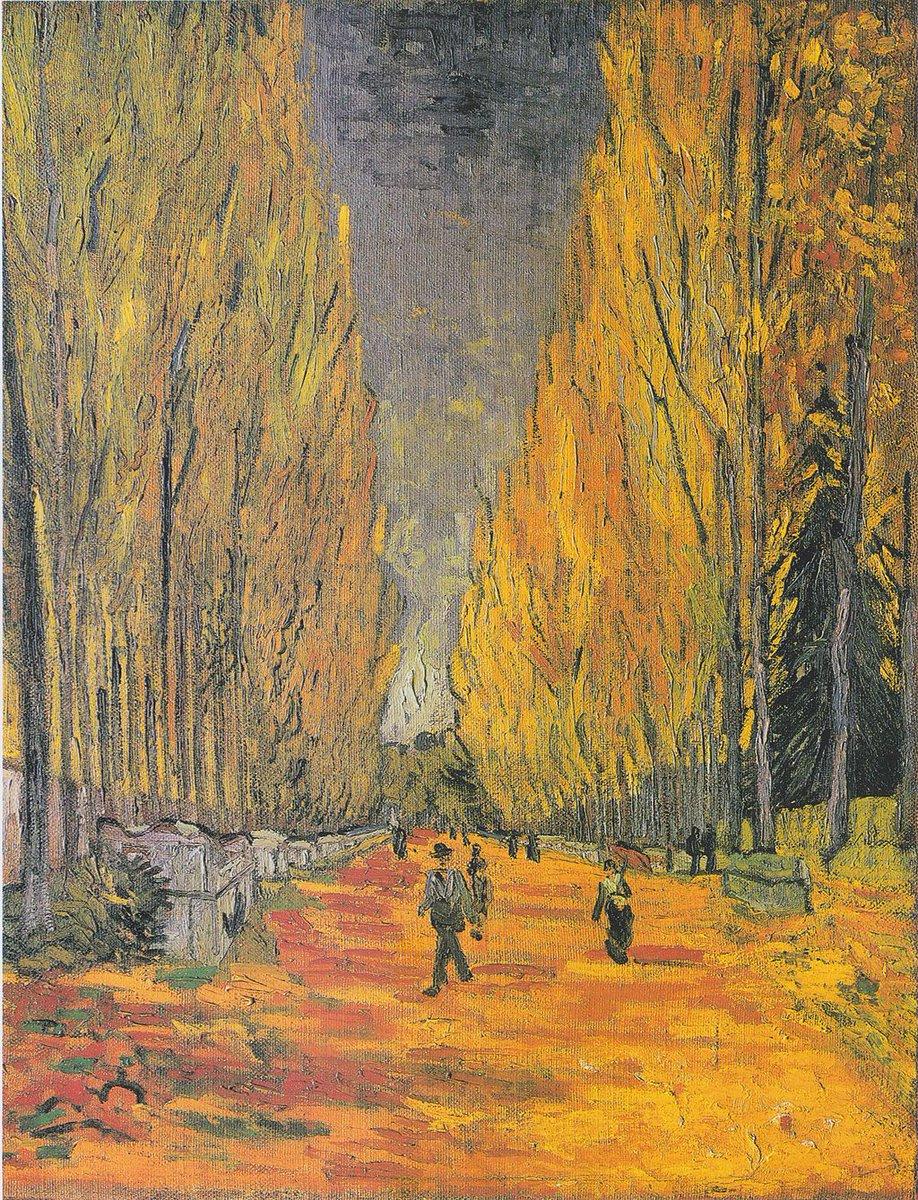 Les Alyscamps, il dipinto di Van Gogh