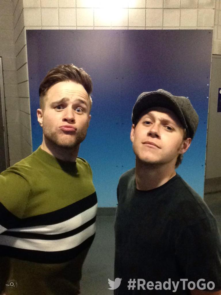 We spy some Troublemakers... Great to see @NiallOfficial supporting @ollyofficial last night at #TheO2. 1 show left