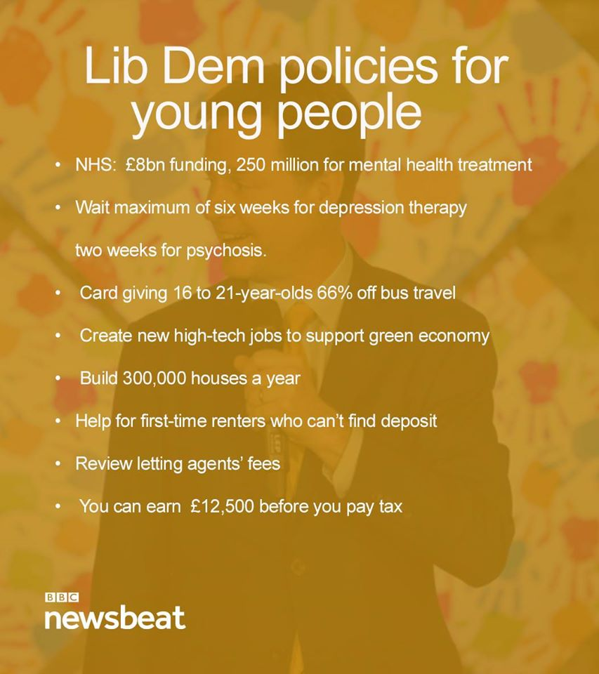 And here are #Conservative, #Labour and #LibDems policies for young people. #GE2015