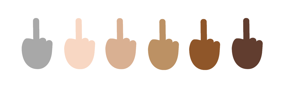 Microsoft: L'emoji «doigt d'honneur» disponible en juillet http://t.co/QACp44g5C6
