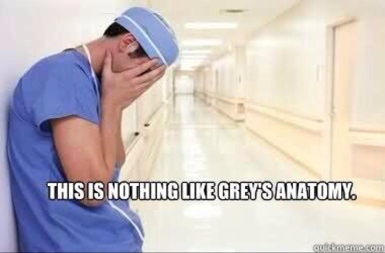 Andrea On Twitter Lifeofmedstudnt Nothing Like Greys