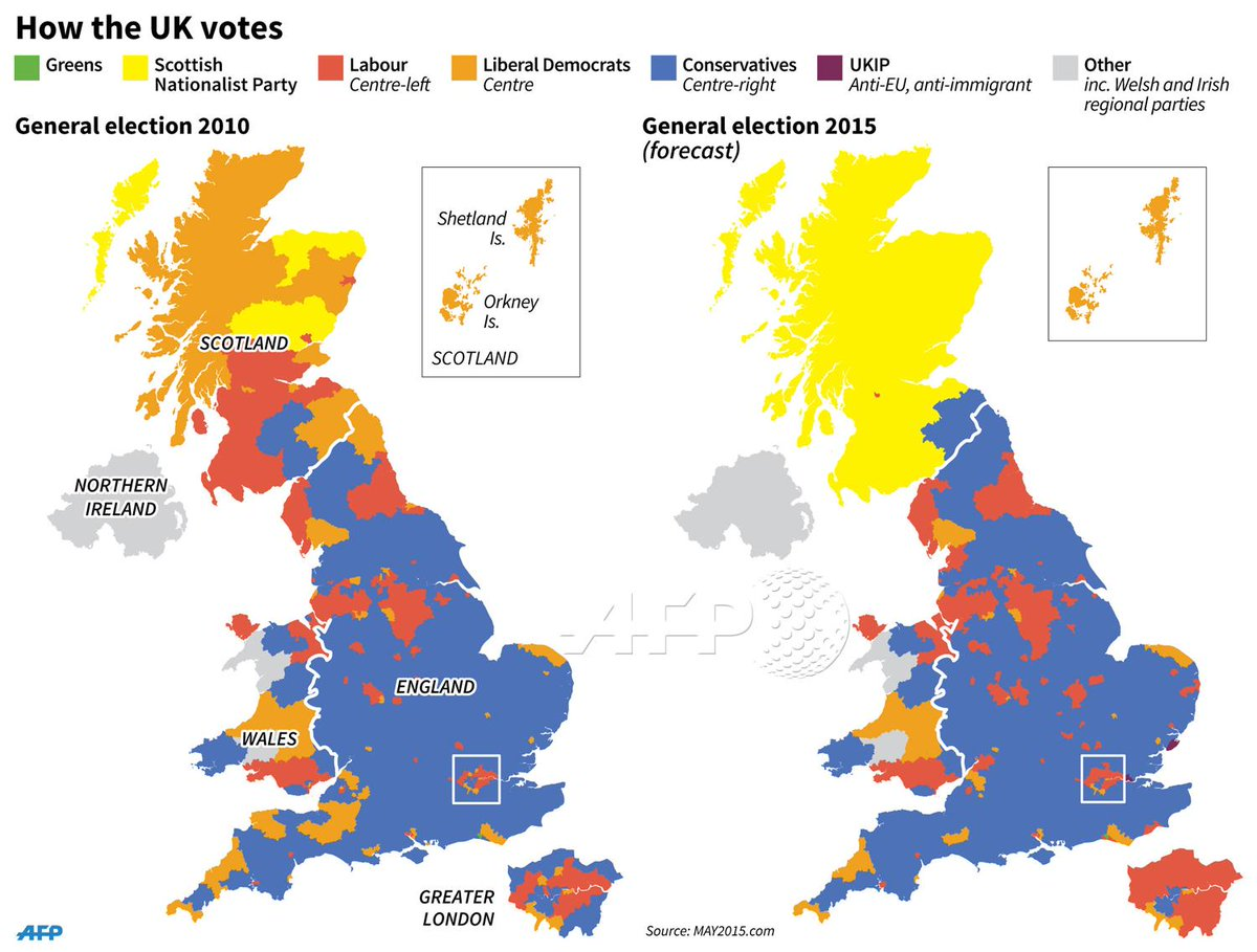 Map Of Uk General Election Results.Afp News Agency On Twitter Maps Of The Uk Showing The Result Of