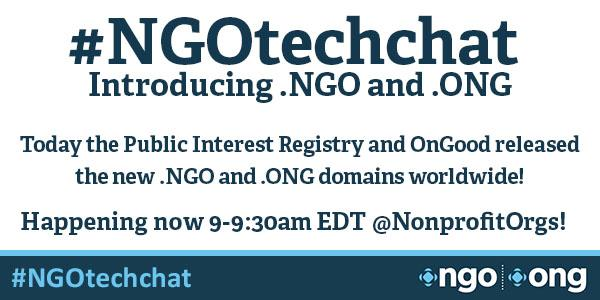Welcome to today's #NGOtechchat! Here's how to participate: http://t.co/hUtSJiY1SE http://t.co/LVyephbXRT