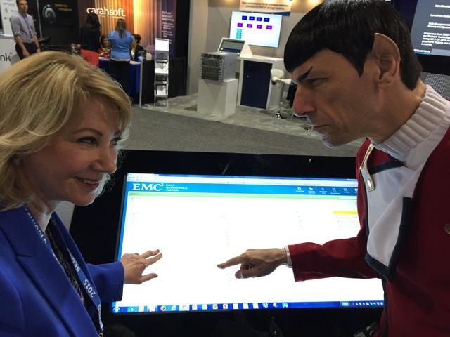 Going where data governance has never gone before #emcworld #cx discovering the value of data with Spock http://t.co/v5o4e10ul4