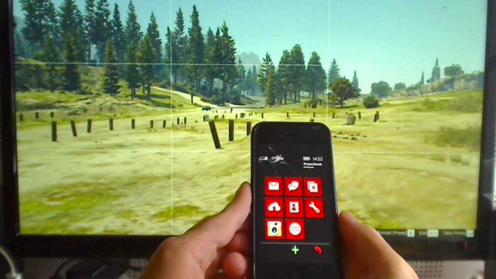 GTA 5 - Ingame-Smartphone lässt sich durch Mod mit echtem Smartphone bedienen