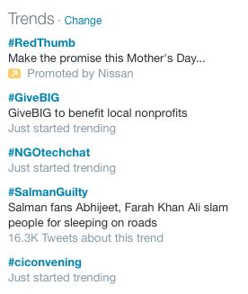 #NGOtechchat is trending! http://t.co/M0jz3yES4v