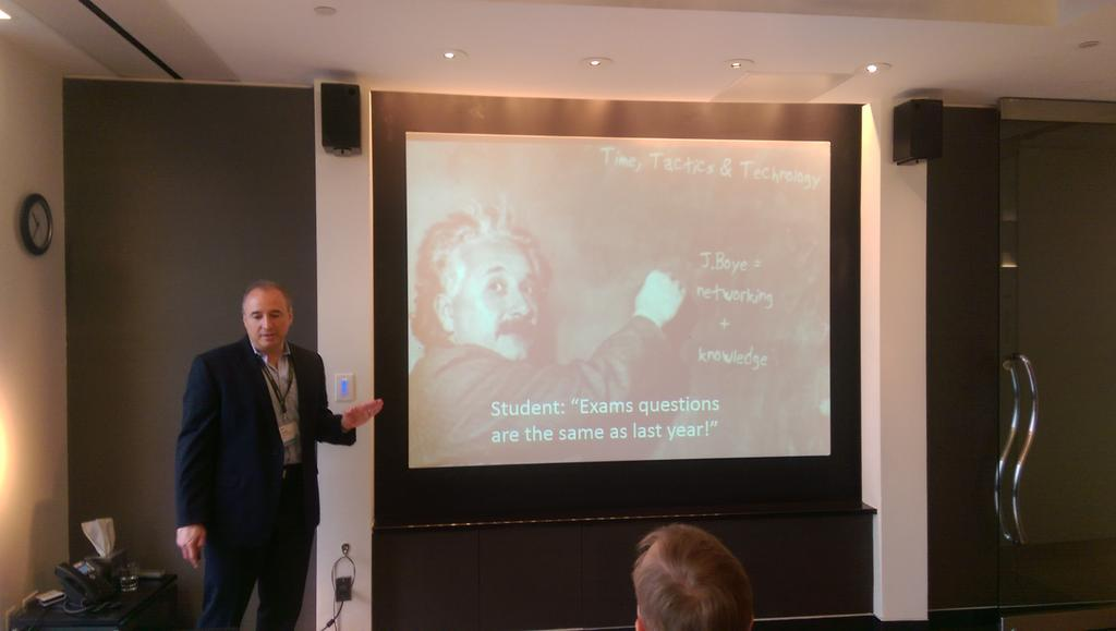 """""""The questions are the same, but the answers are different"""" @MartinWeinberg insights on marketing mindsets #jboye15 http://t.co/TWPSEiqNPr"""