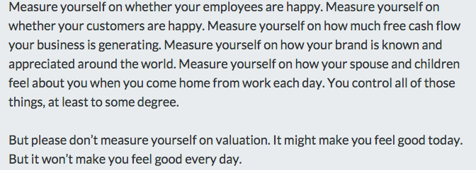 Valuation As A Scorecard http://t.co/XFmiOnVAS4 by @fredwilson http://t.co/6725u0B7mf