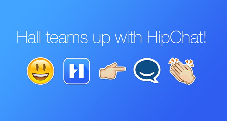 Hall Joins the Atlassian Family to Team Up With @HipChat! https://t.co/iVk55NXbe8 http://t.co/mZHk3Ak7m1