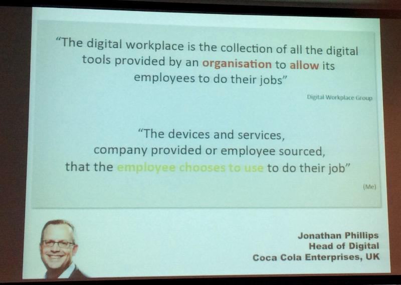 Lau quotes What's the digital workplace by @digitaljohnathan via #jboye15 http://t.co/aQkjHv2JF7