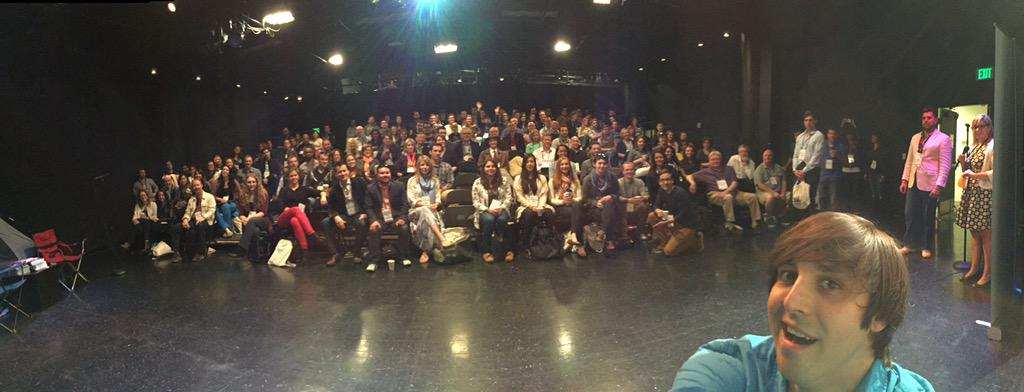 Hello #gcuc2015! #gcucusa @gcucusa #panoselfie http://t.co/5WKtB9jsPo