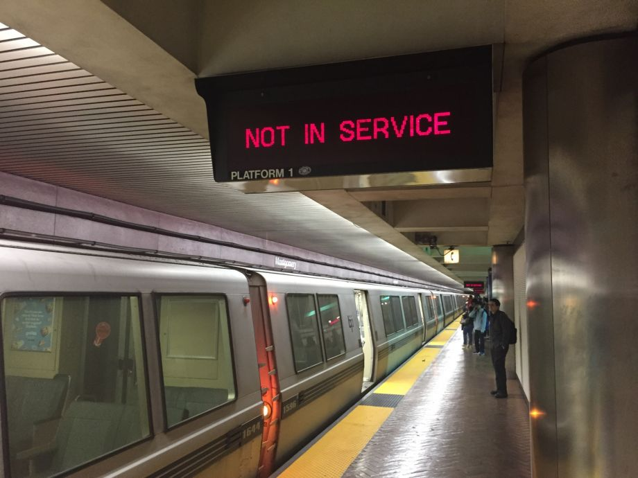 Thumbnail for Broken Rail Causes Major BART Delays