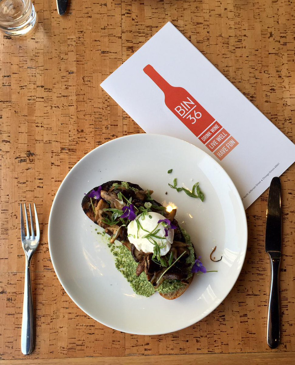 Lunch Special: Wild Mushrooms on Toast w/ Wild Celery Pesto & a Poached Farm Egg. Pair it w/ a crisp Sangiovese! http://t.co/Ca67ghhPWv