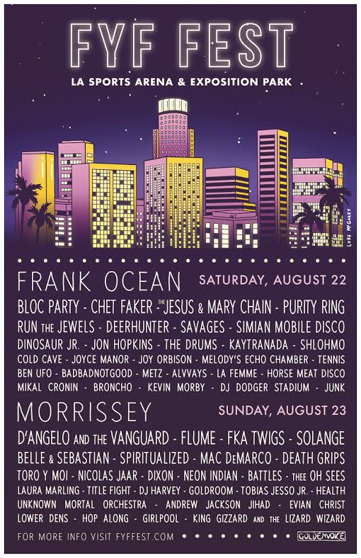 That @FYFFEST lineup tho
