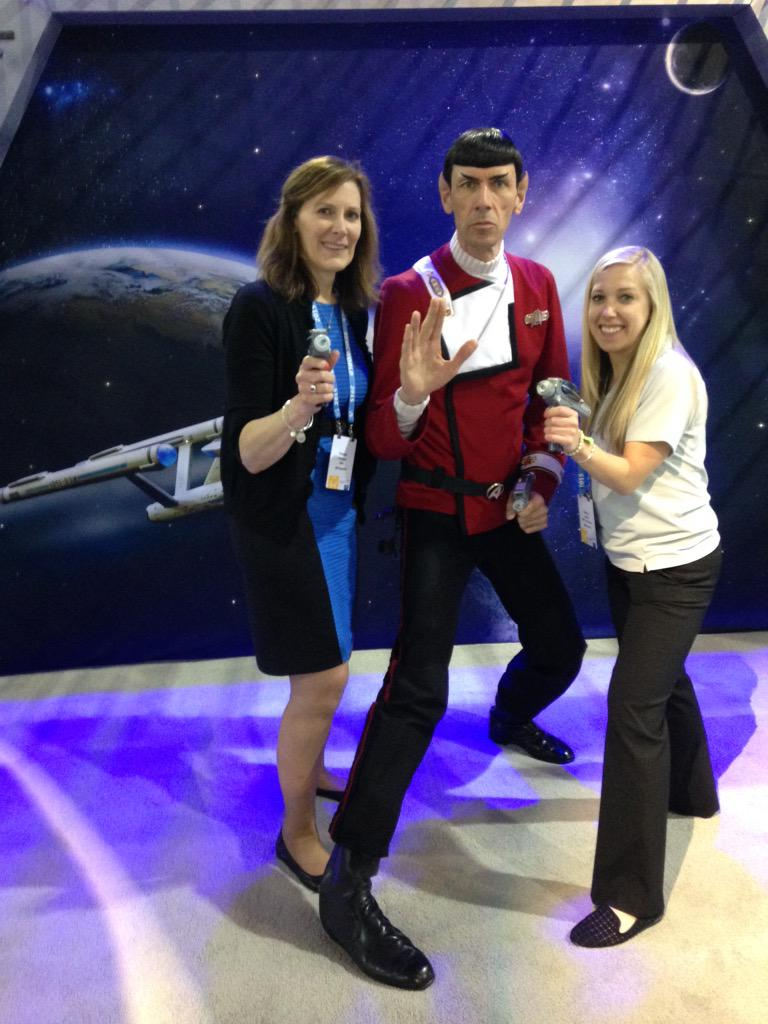 @PhippsDB: #cx matters to EMC! Live long and prosper. #EMCWORLD @kgsmith11 http://t.co/qjunDDBTNY