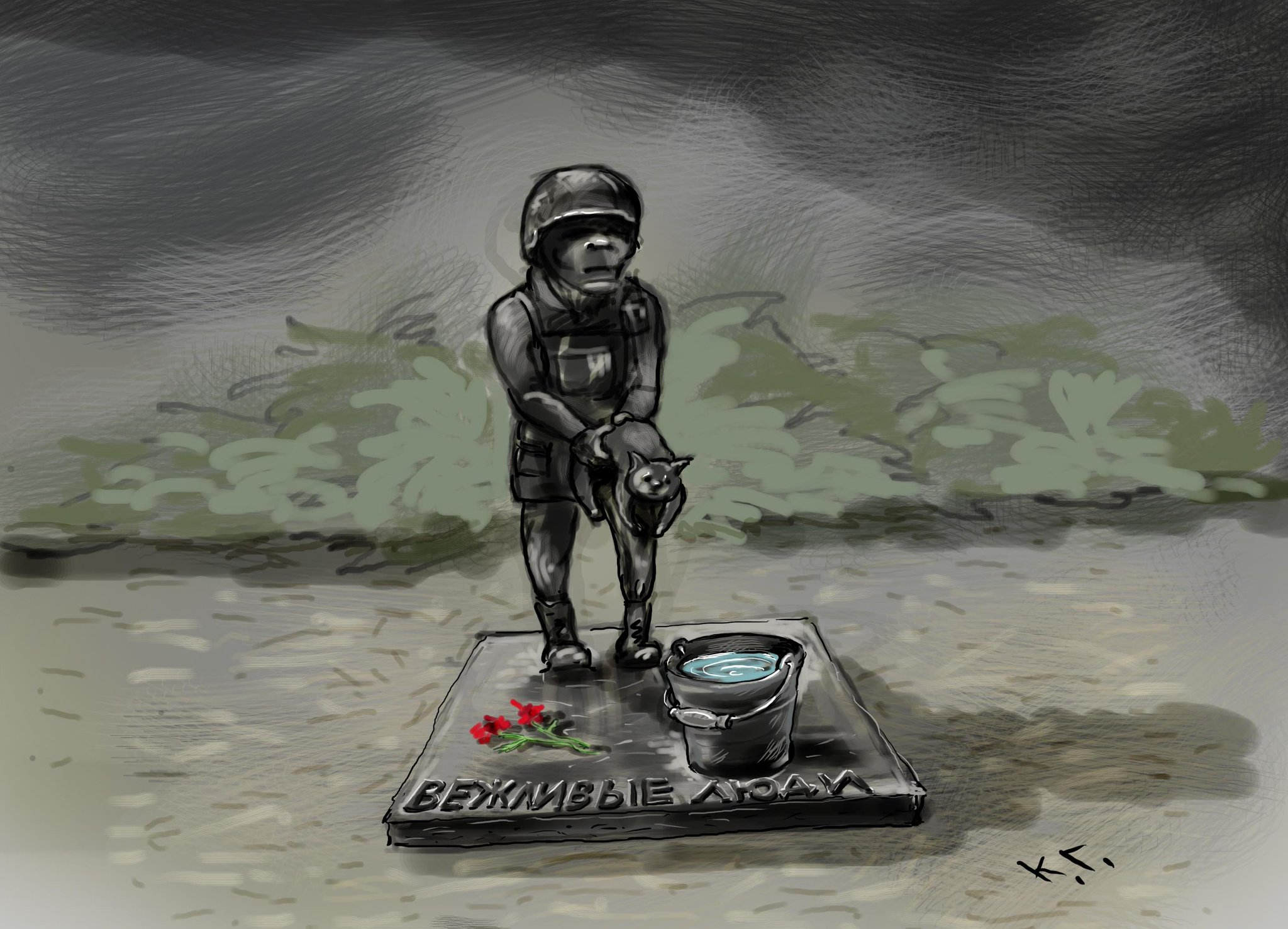 """Блокпост """"Марьинка"""" закрыт из-за обстрелов террористов, - Лысенко - Цензор.НЕТ 3385"""