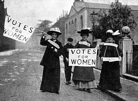 ladies who can, use your voice to vote. our suffragettes fought for this right, please use it. be heard. http://t.co/0MHsxAZaqR